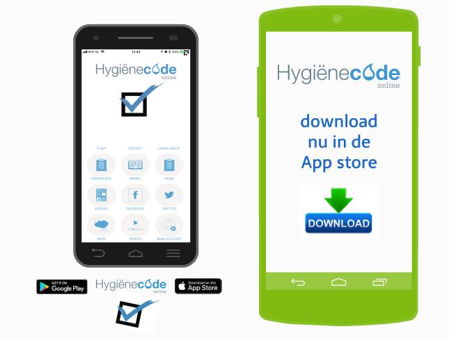 HACCP registratie App - Home